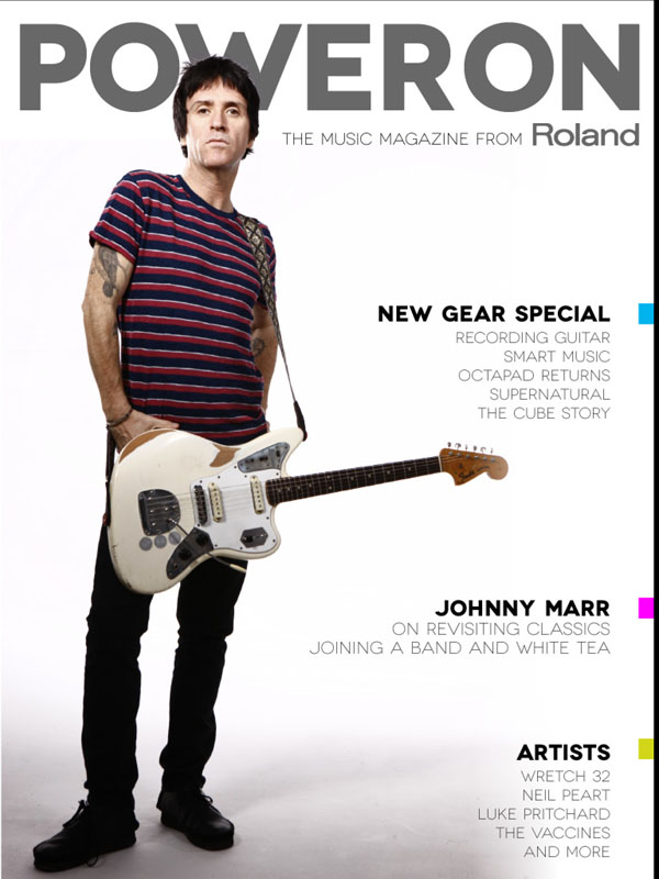 Roland Power On Magazine